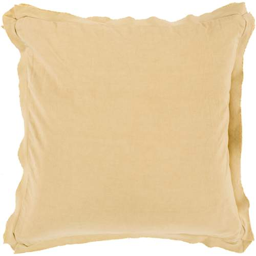 """Surya TF-003 Pillow Kit Down Feathers Square Muted Clay 22"""" x 22"""" Accent Pillow"""