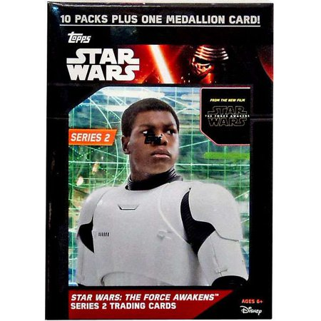 Star Wars Series 2 The Force Awakens Trading Card Value Box