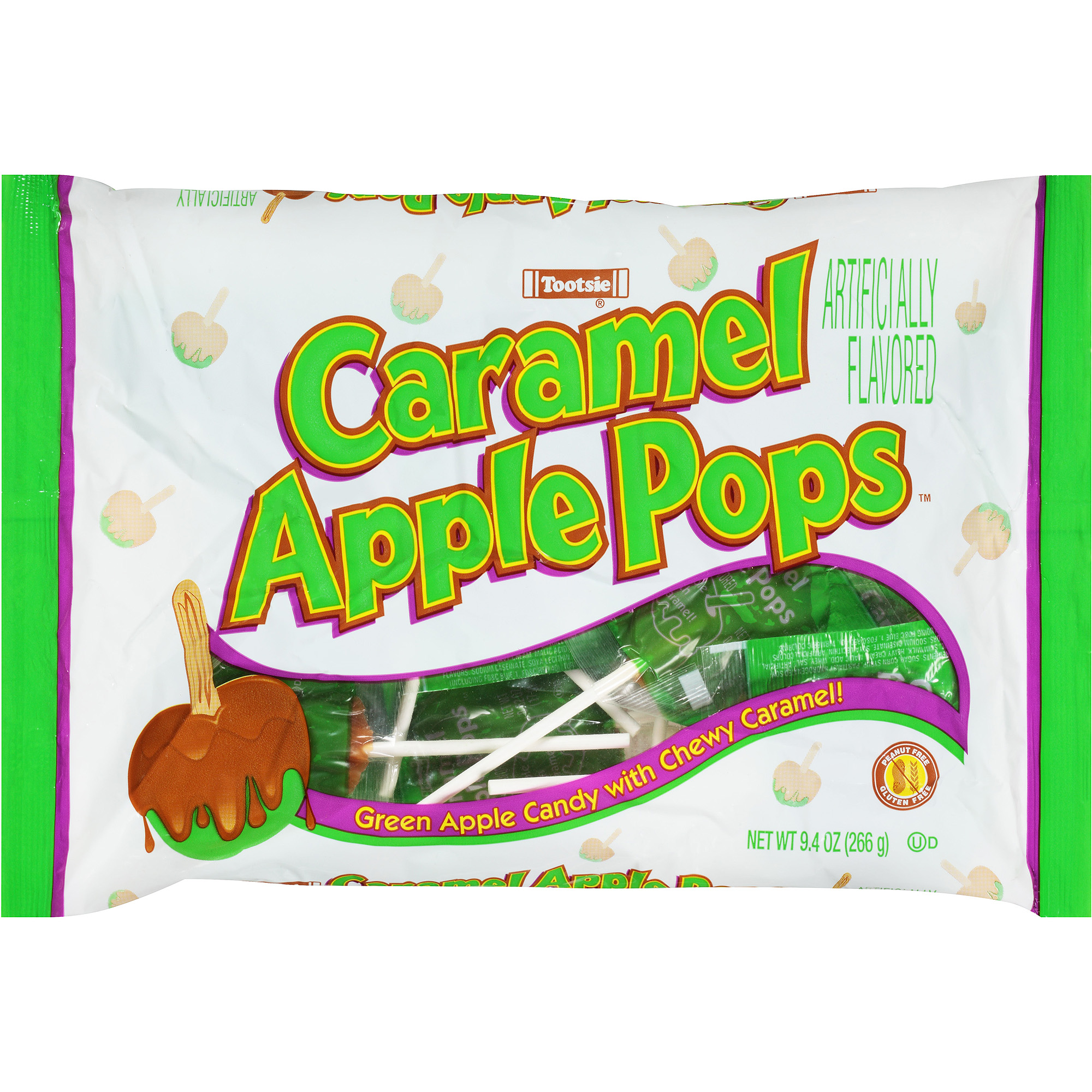 Tootsie Caramel Apple Pops, 9.4 oz