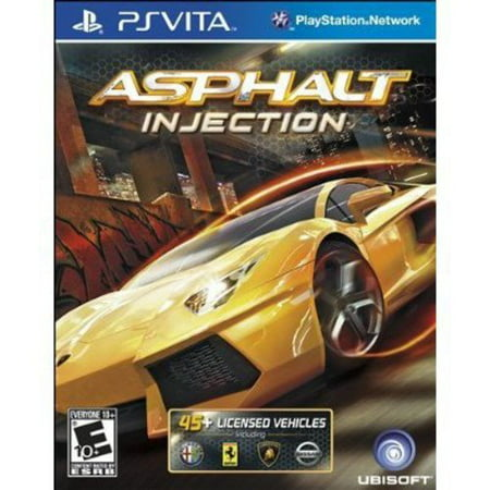 Asphalt: Injection - PlayStation Vita (Best Racing Game For Vita)