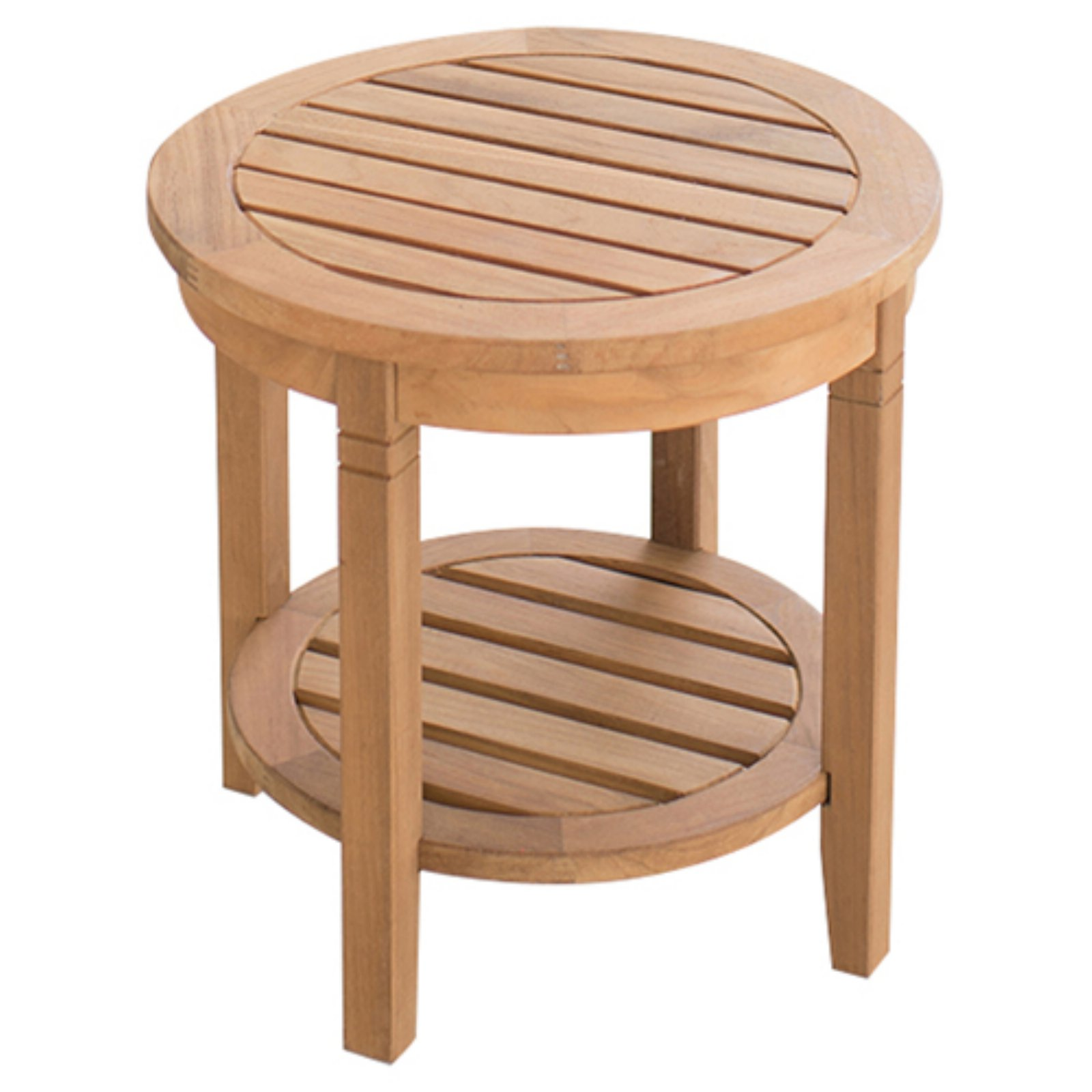 Cambridge Casual Teak Round Side Table