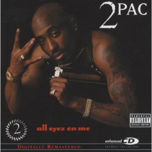 Tupac Shakur - All Eyez On Me (Explicit) (Remastered) (CD)