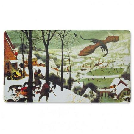 Arcane Tinmen ATM22515 Tapis de jeu Chasse au bouclier de dragon dans la neige - image 1 de 1