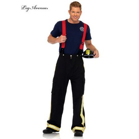 Leg Avenue Men's Fireman Costume