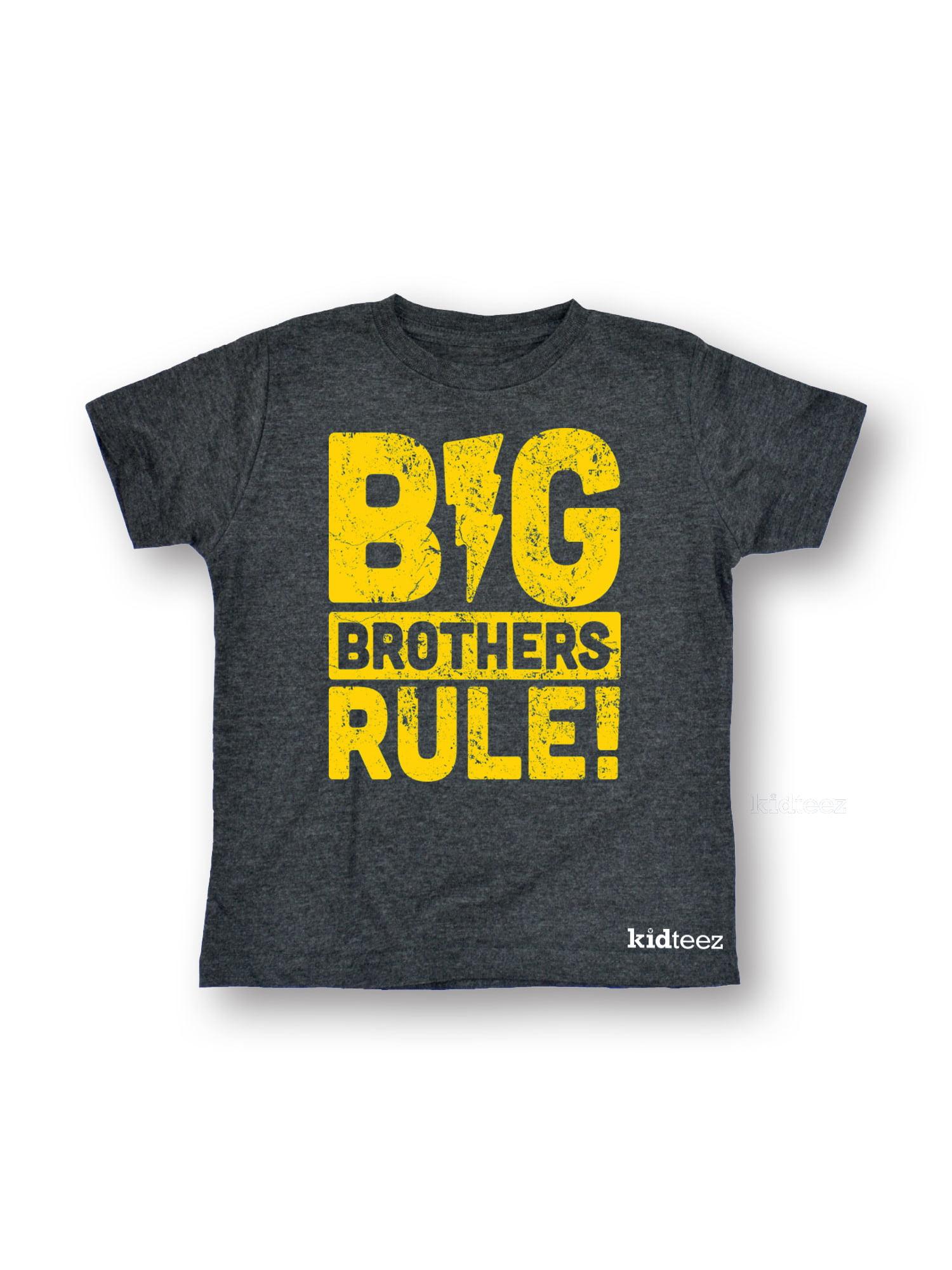Big Brothers Rule-Toddler Short Sleeve Tee
