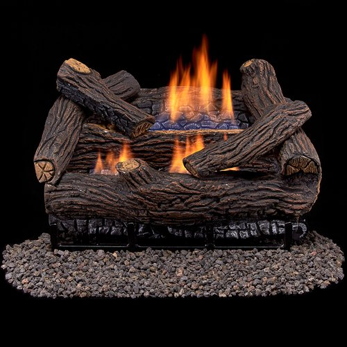Duluth Forge Ventless Dual Fuel Gas Log Set