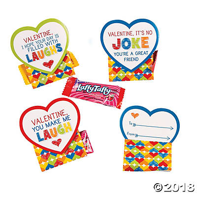 Laffy Taffy Valentine Candy Exchange Cards Pack Of 12 Walmart Com