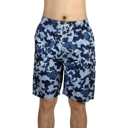 Men Summer Diving Surfing Beach Boxer Shorts Swimwear Swim Trunks