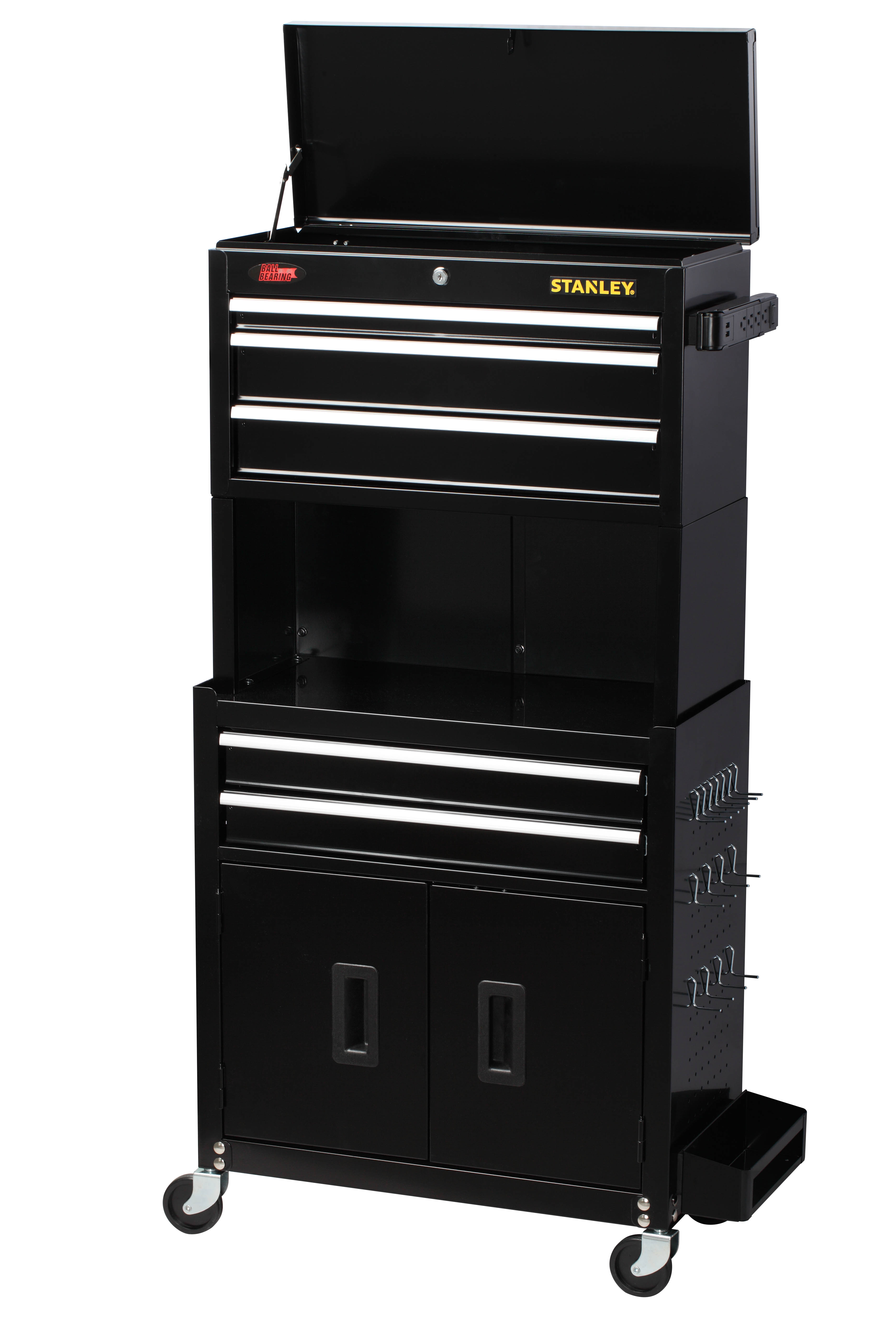 STANLEY 24-Inch 5-Drawer Tool Chest and Cabinet - Walmart.com