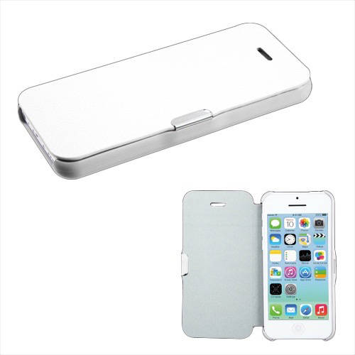 Apple iPhone 5C MyBat MyJacket Binder, Black Crazy Horse