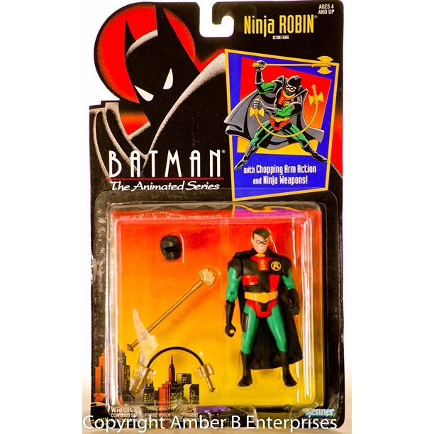 The Animated Series Ninja Robin Action Figure Btas Action Figure By Batman Walmart Com Walmart Com