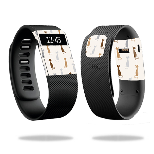 Skin Decal Wrap for Fitbit Charge cover skins sticker watch Cat Lady