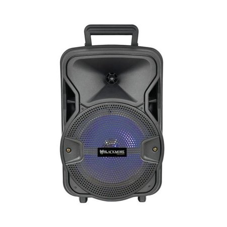 Samson Technologies BJS-209BT Blackmore Portable Amplified Spkr Pa Loudspeaker W/ Rechargeable (Rechargeable Loudspeaker)