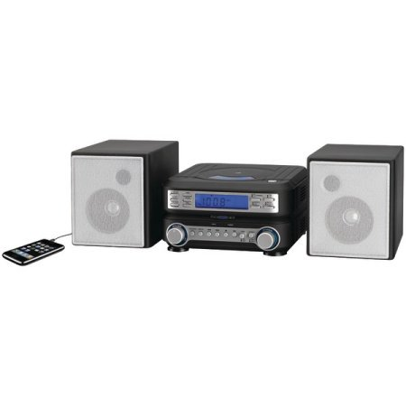 Buy GPX HC221B Compact CD Player Stereo Home Music System with AM  FM Tuner