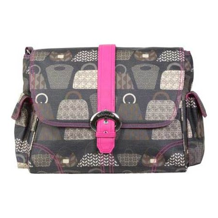 Midi Coated Buckle - Women's Kalencom Matte Coated Buckle Bag  14