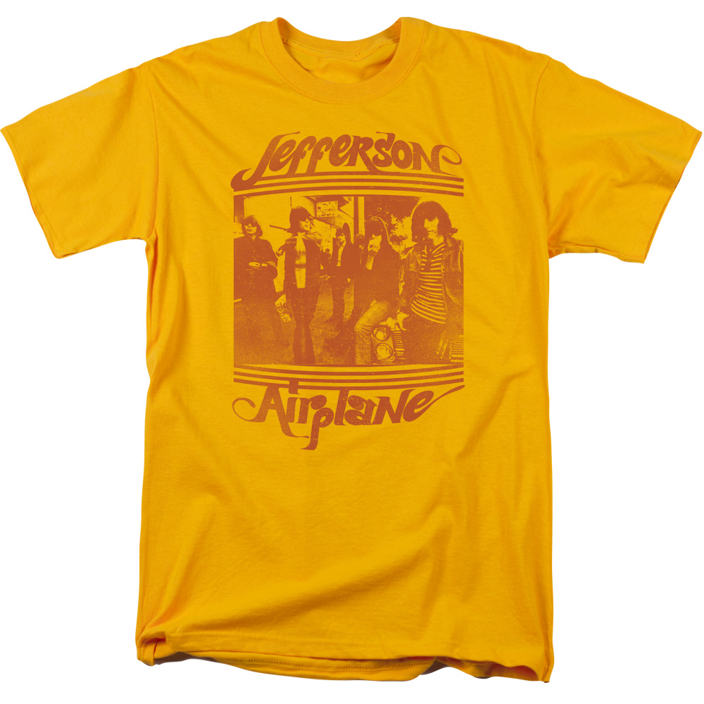 Jefferson Airplane Group Photo Mens Short Sleeve Shirt