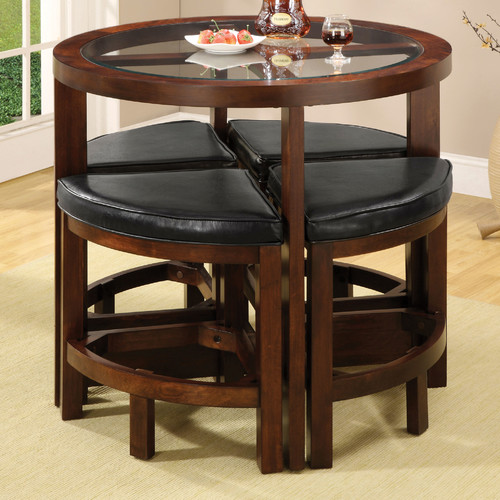 Red Barrel Studio Jinie 5 Piece Counter Height Pub Table Set