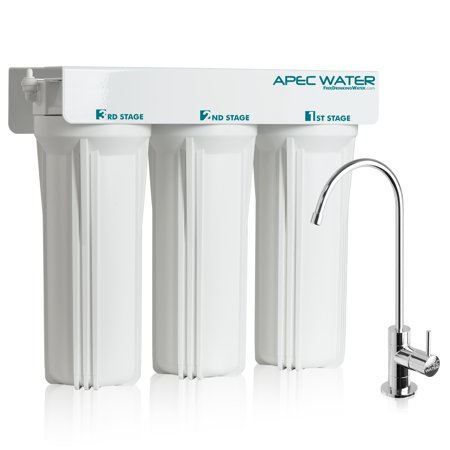 Water Quality System (APEC - Super Capacity 3 Stage Under Counter Water Filtration System)