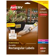 "Removable Labels, Sure Feed, 1-1/4"" x 1-3/4"", 256 Labels (22828)"