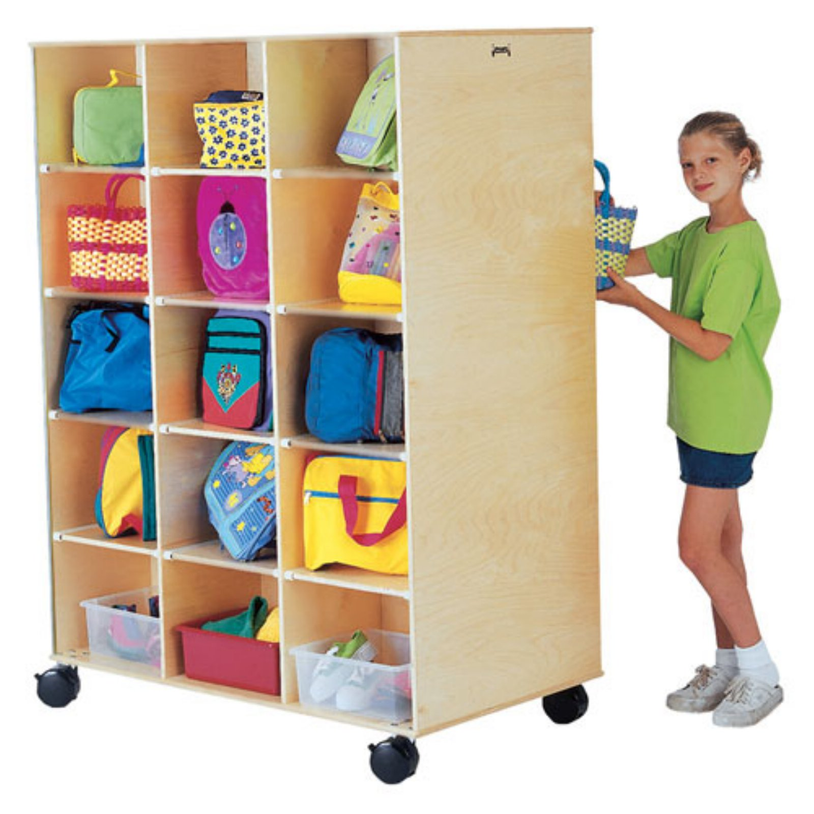 Big Twin Mobile Cubbies
