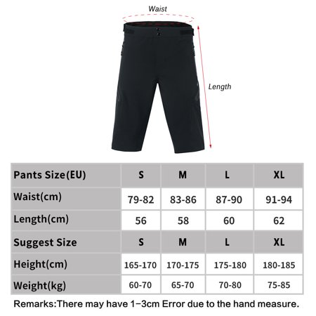 Arsuxeo Outdoor Sports Cycling Shorts Men's Running Shorts Quick Dry Marathon Training Fitness Running Trunks - image 5 of 7