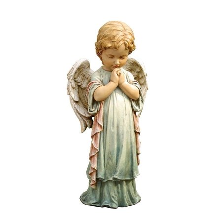 - Napco Praying Angel Cherub Pastel Garden Statue Outdoor Decor