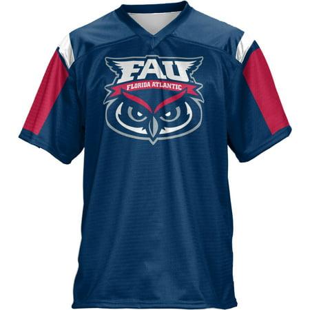 Fanmats Florida Atlantic University - ProSphere Boys' Florida Atlantic University Thunderstorm Football Fan Jersey