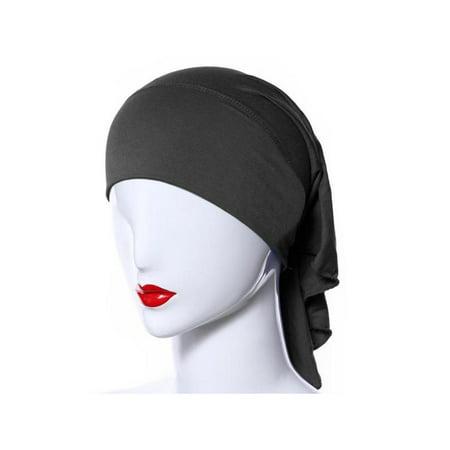 Lavaport Womens Mini Inner Hijab Caps Underscarf Nursing Recovery Head