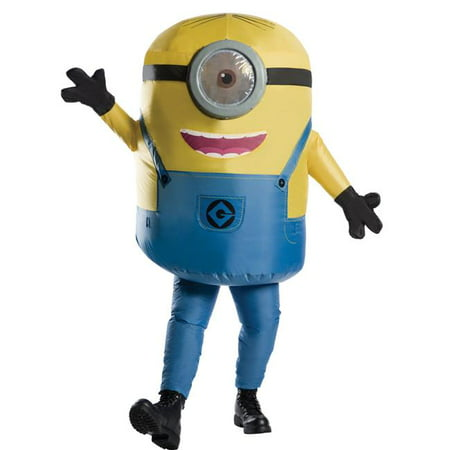 Morris Costumes RU810585 Minion Stuart Inflatable Adult Costume