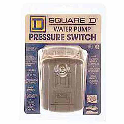 Schneider Electric Square D FSG2J24CP 40 to 60 PSI Water Pump Pressure Switch