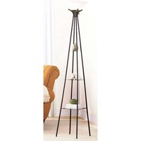 Deals on Mainstays 69-inch Etagere Floor Lamp