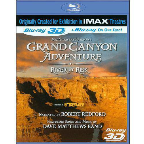 Grand Canyon Adventure: River At Risk (3D) (Blu-ray) (Widescreen)