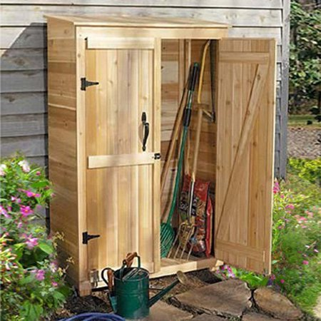 Outdoor living today gc42 garden chalet 4 x 2 ft tool for Garden shed 4 x 2