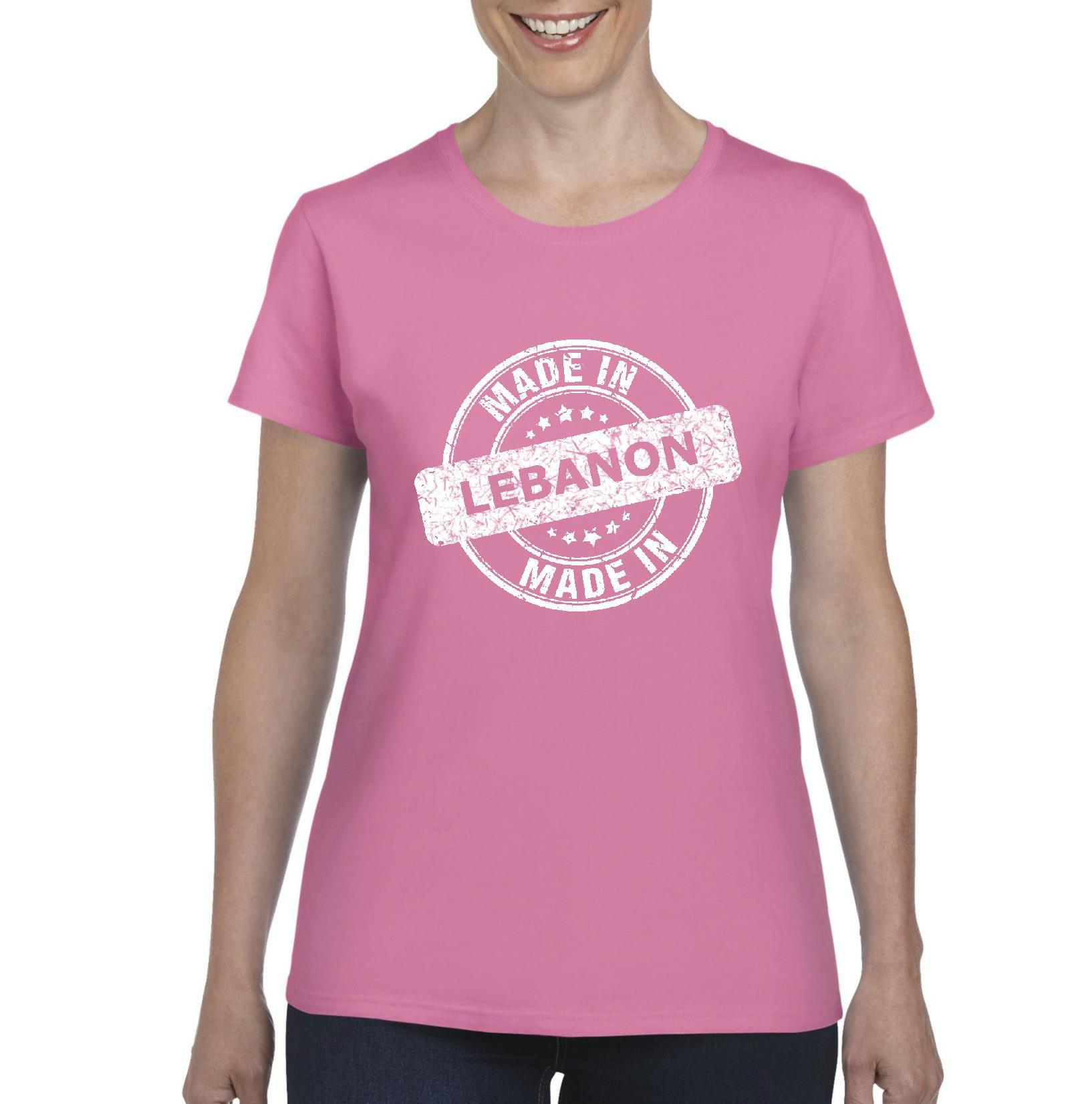 Lebanon T-Shirt Made in Lebanon Artix Women's T-shirt Tee Clothes
