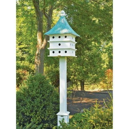 Lazy Hill Farm Designs Ultimate Martin Bird House, Blue Verde and Vinyl - Lazy Hill Birdhouse