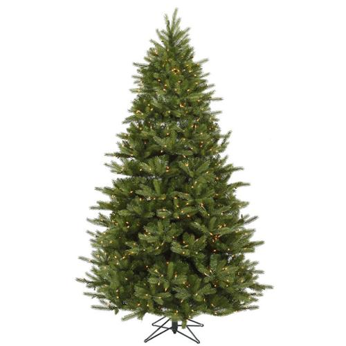 12' Medium Majestic Artificial Christmas Tree - Clear Dura Lights