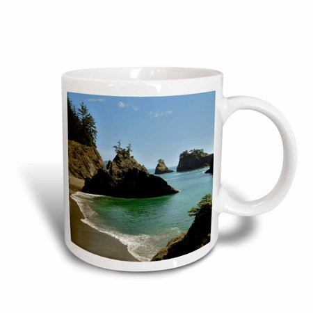 3dRose Secret Beach, Boardman State Park, Oregon, USA, Ceramic Mug,