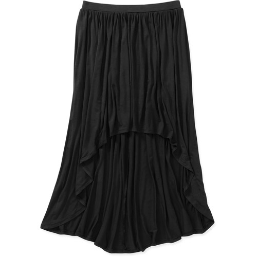 no boundaries juniors hi low knit maxi skirt walmart