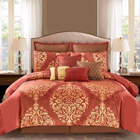 Astoria Grand Blomquist 10 Piece Comforter Set