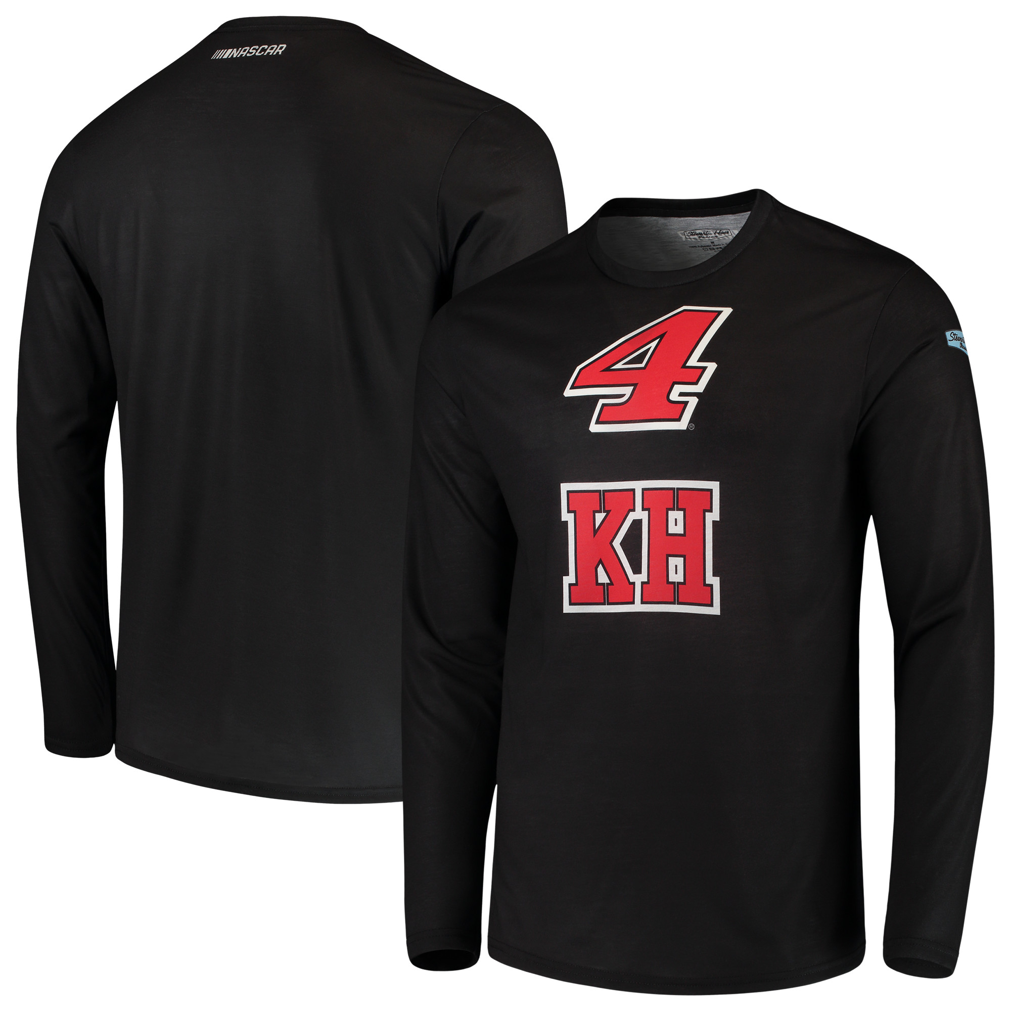 Kevin Harvick Sublimated Long Sleeve T-Shirt - Black