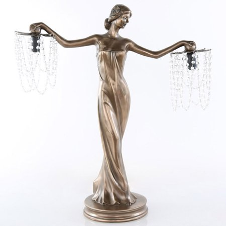 River of Goods Grecian Goddess Beaded Table Lamp ()