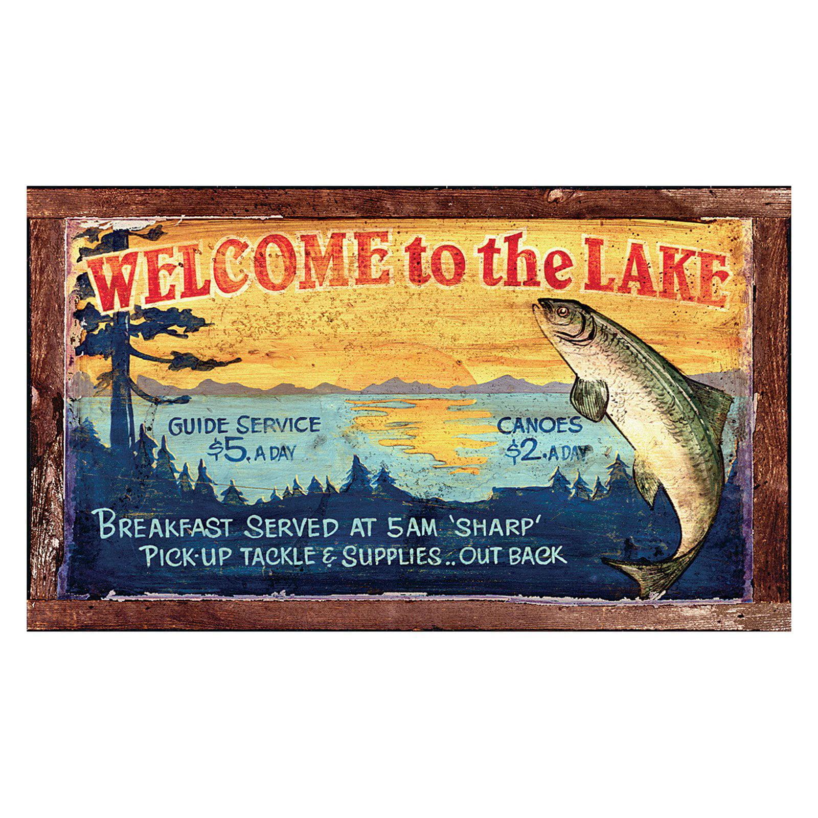 Lake Wall Art