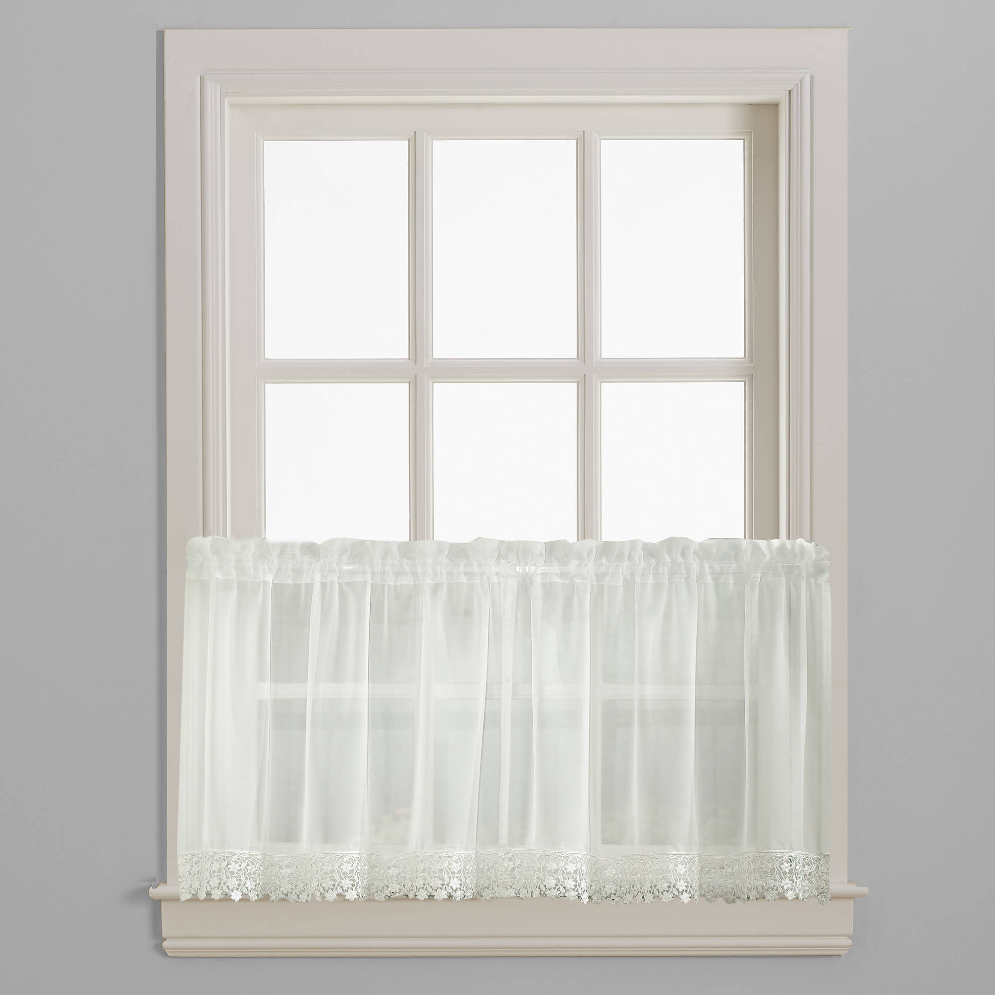 CHF & You Ashlyn Kitchen Curtains, Pair