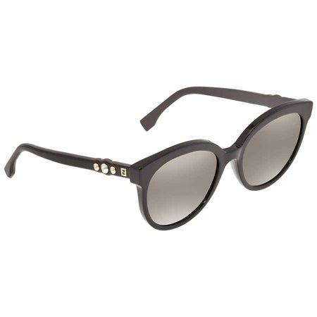 Fendi Sunglasses Ff 0268/S 0807 00 Black /FQ gray sf gold sp lens San Francisco 49ers Sunglasses