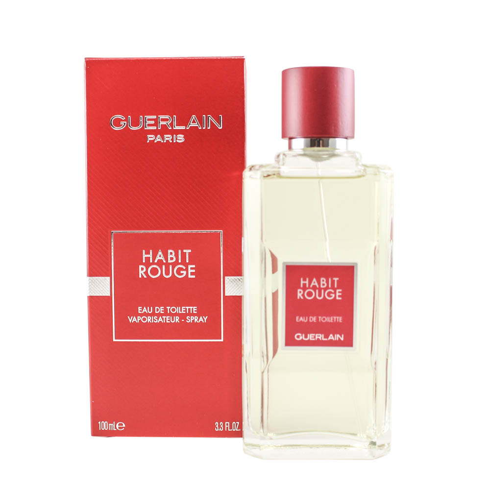 """Habit Rouge - 3.4 oz EDT Spray"""