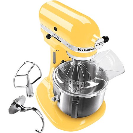 Kitchenaid artisan series 5 quart tilt head stand mixer in buttercup ksm150psbf - Walmart kitchen aid stand mixer ...