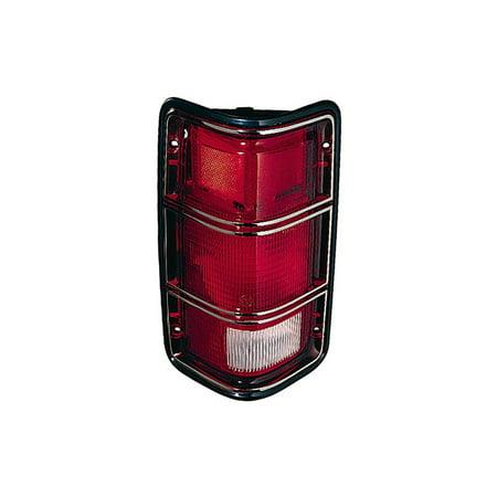 Replacement Depo 333-1902L-US23 Left Tail Light For D50 W150 W100 W250 D400 D350 Dodge D50 Tail Light