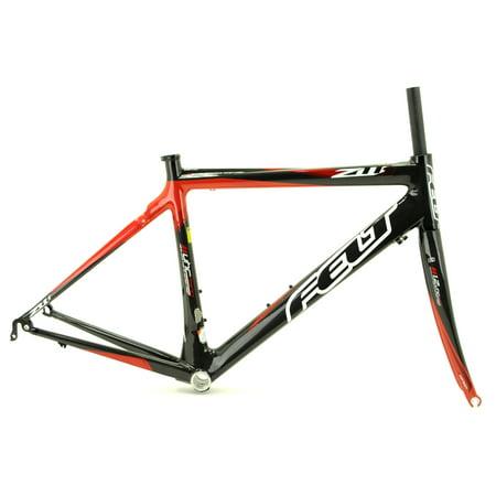 2012 Felt ZW1 Womens Carbon Road Bike 700c Frame Fork Frameset / 50cm / (Best Bike For Tall Women)