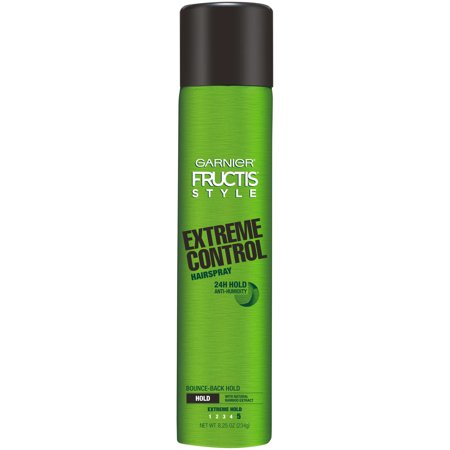 Garnier Fructis Style Extreme Control Anti-Humidity Hairspray, Extreme Hold, 8.25