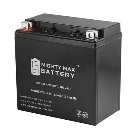 YTX14-BS Battery for Suzuki SV1000, S 03-07